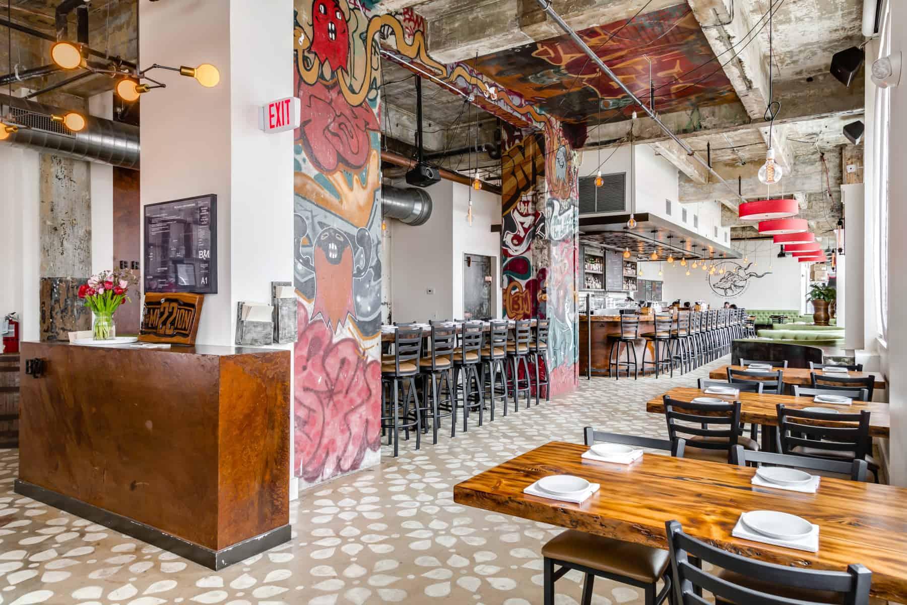 Restaurant Photography - Brick and Mortar Philadelphia