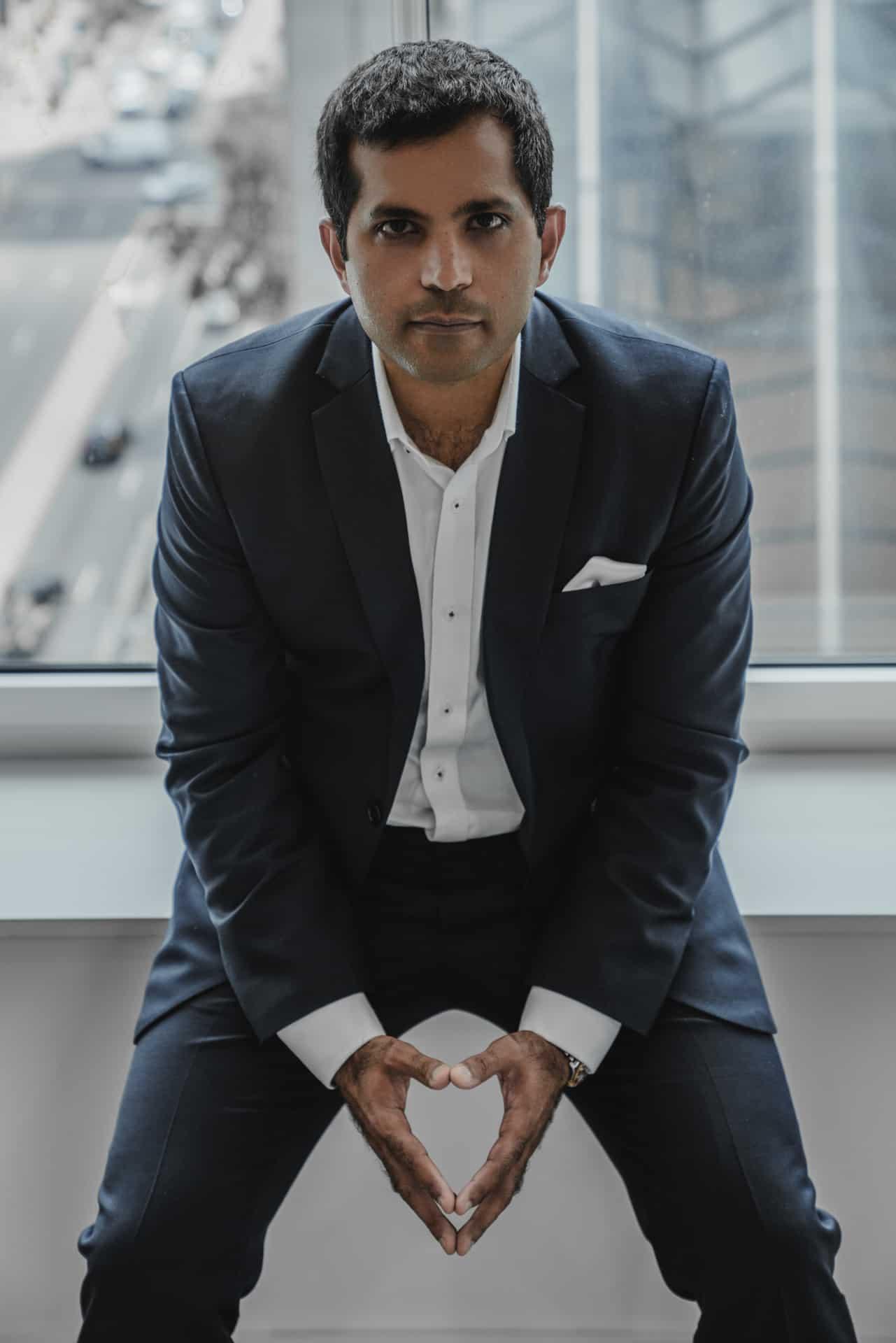 Portrait of Gaurav Gambhir for Philadelphia Real Producers Magazine