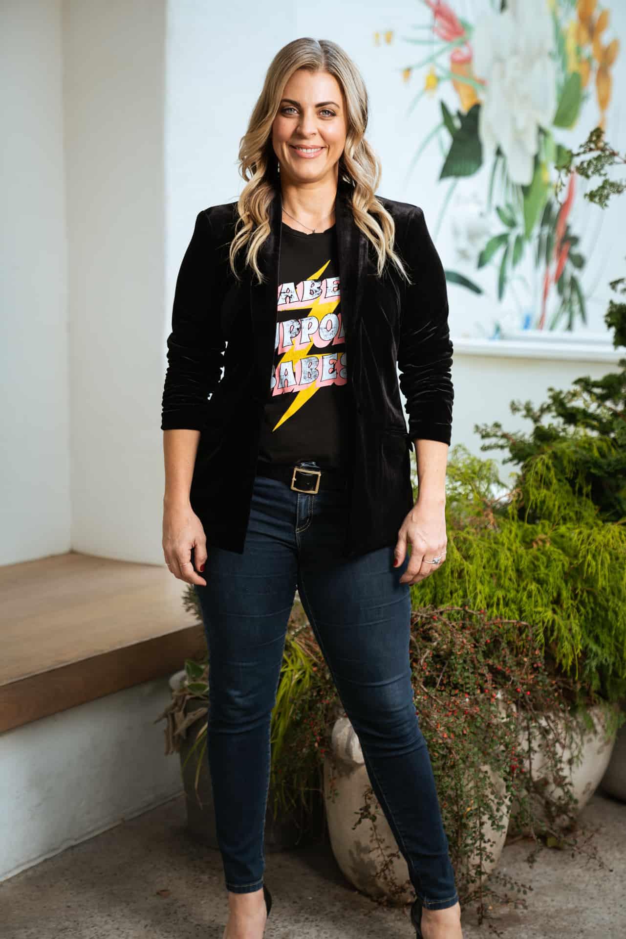 Portrait of Lara Ertwine for Philadelphia Real Producers Magazine