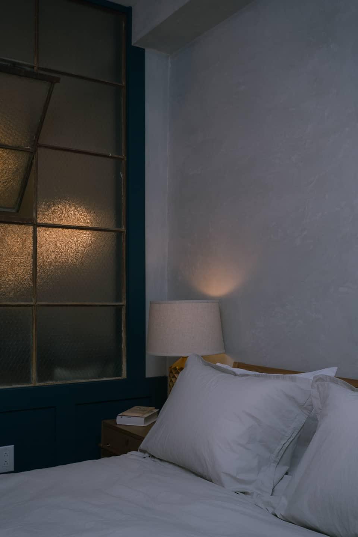 Photograph of interior design at Lokal Hotel in Philadelphia