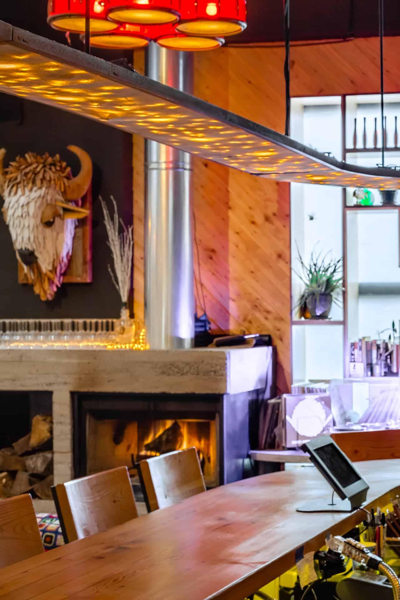 Restaurant Photograph of Martha in Philadelphia