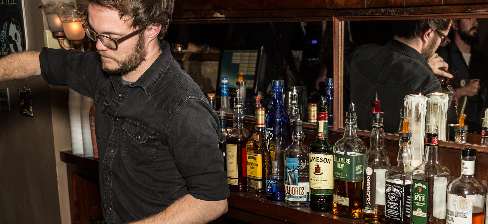 Staff Photography for Bourbon and Branch