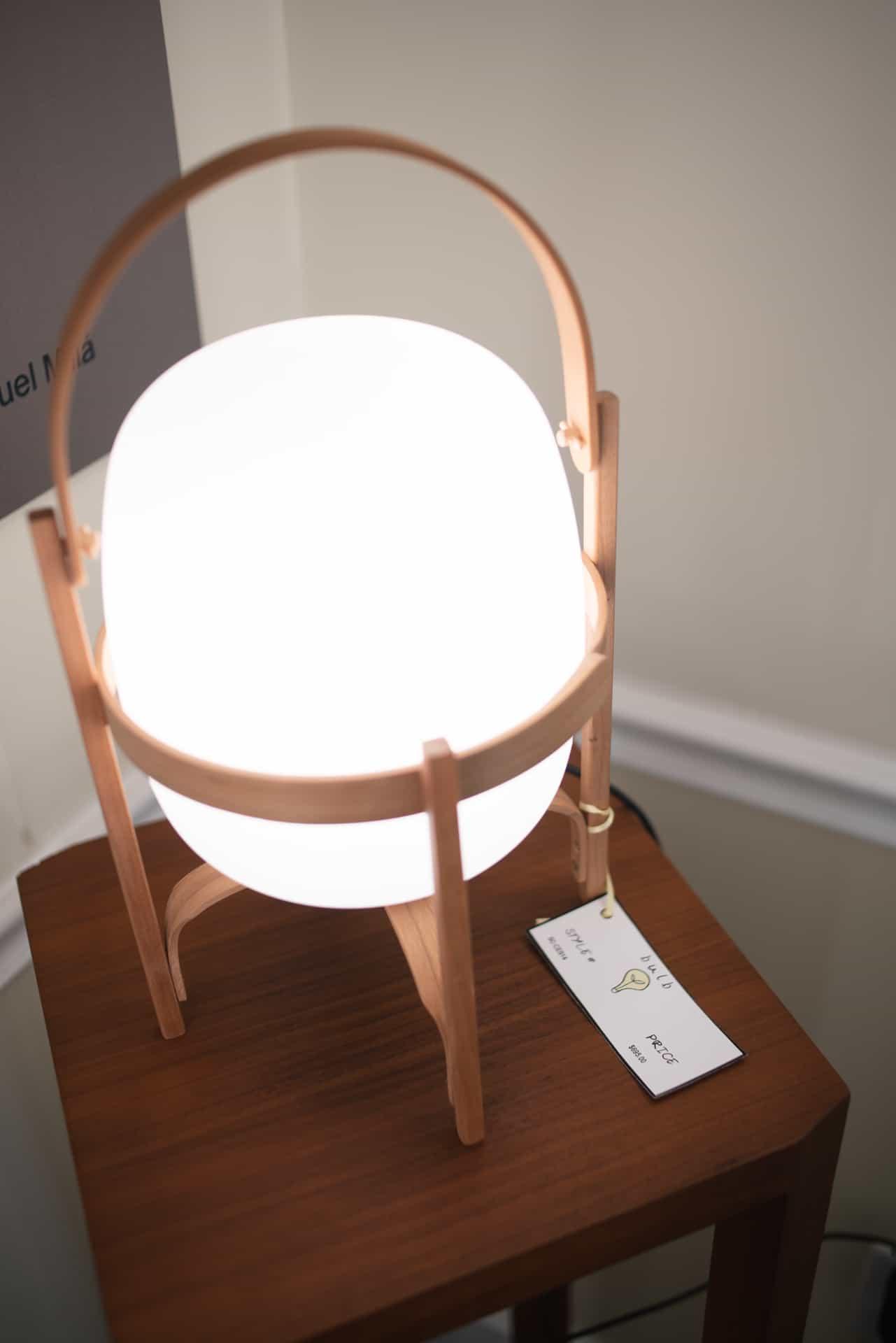 Photograph of lighting retailer Bulb, in Philadelphia, PA