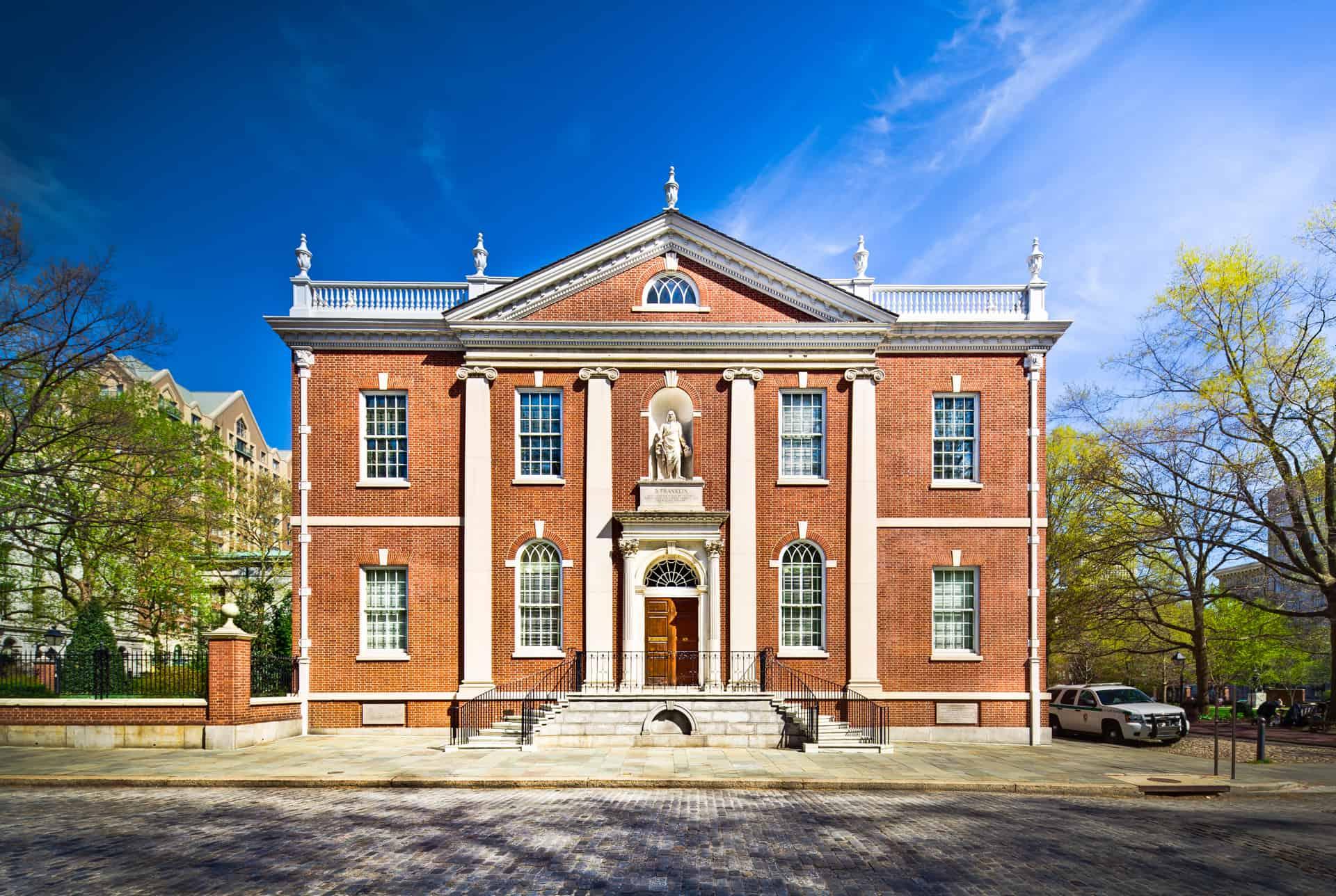 Photo of Philadelphia Landmark - The American Philosophical Society
