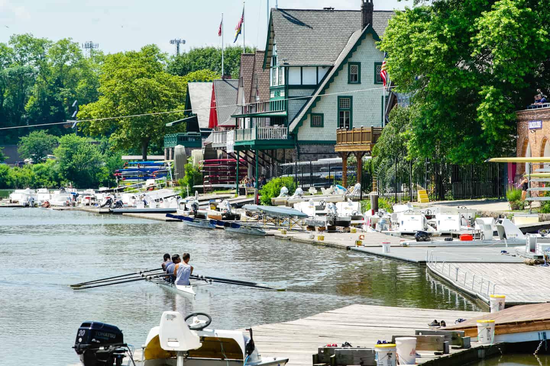 Photo of Philadelphia Landmark - Boathouse Row