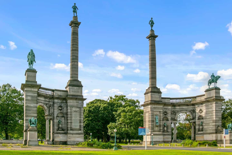 Photo of Philadelphia Landmark - Civil War Memorial