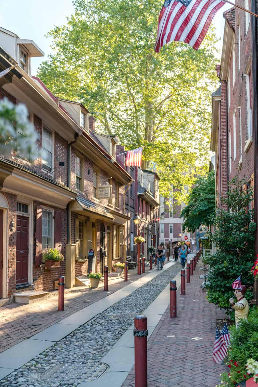 Photo of Philadelphia Landmark - Elfreths Alley