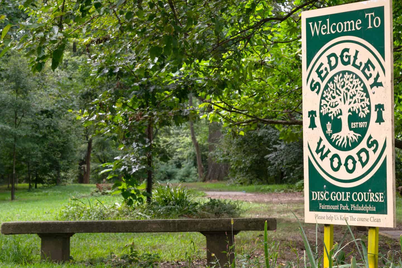 Photo of Philadelphia Landmark - Fairmount Park Sedgley Woods Disc Golf Course