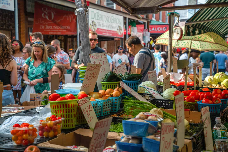 Photo of Philadelphia Landmark - Italian Market