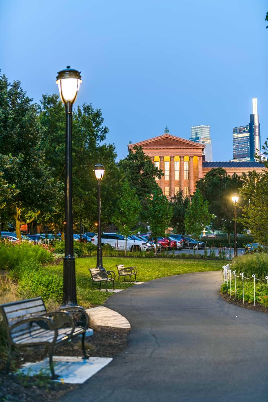 Photo of Philadelphia Landmark - Philadelphia Museum of Art Azalea Garden