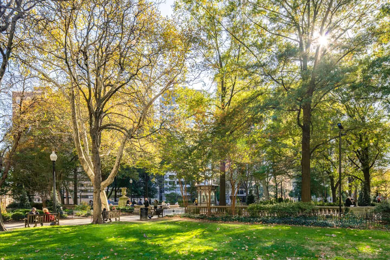 Photo of Philadelphia Landmark - Rittenhouse Square