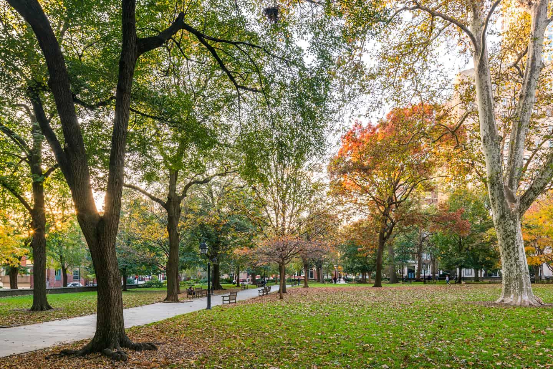 Photo of Philadelphia Landmark - Washington Square Park