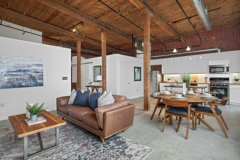 Real Estate Loft Photograph